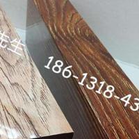 走廊吊顶装饰仿木铝方通_广东仿木纹铝方通厂家