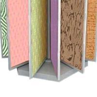 涂料硅藻泥展示柜墙纸展示架陶瓷翻页展具
