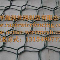 安平海润(誉诚)石笼网 不锈钢、包塑 边坡、矿用石笼网 格宾网