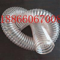 PU钢丝螺旋伸缩管 PU钢丝透明软管 厂家现货供应