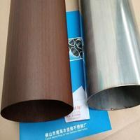 哑光木纹不锈钢管生产厂家广东佛山丰佳缘制造
