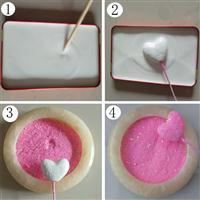 工艺品和圣诞玩具专用金葱粉粘合剂、水性高粘度金葱粉专用粘合剂