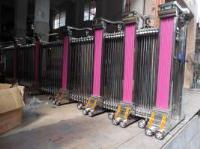 九江哪有卖电动门的,九江彭泽不锈钢自动伸缩门安装较便宜厂家