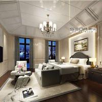 赛华竹木纤维集成墙面之卧室集成墙面效果图