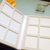 彩晶橱柜门板色卡样本册