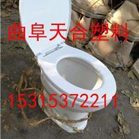 安徽滁州农村厕所改造三格化粪池冲厕桶