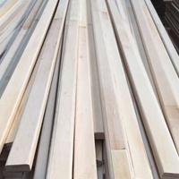 可订制出口环保E0级可倒角LVL实木床板条 杨木LVL 床板条