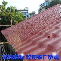民房改造仿古树脂瓦 树脂材料耐老化屋面瓦片 广东树脂瓦制品厂