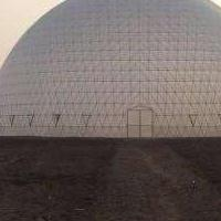 鸟巢温室结构稳定抗风能力高,