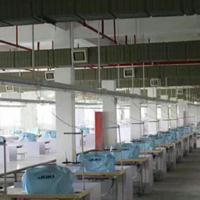 羽绒被自动化生产线织带机双针平车花样开袋机包缝机供电母线槽