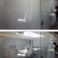 电控玻璃-变雾玻璃-欧毅酒店淋浴房装饰隔断玻璃调光变色