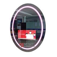 鑫飞魔镜豪华挂式酒店卫浴间镜子带氛围灯智能镜触摸浴室魔镜