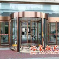 供应广东酒店旋转铜门,感应铜门,工程铜门