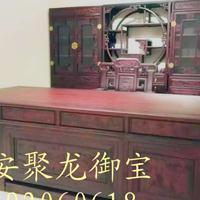 西安仿古家具、实木办公桌、红木办公桌价格、仿古榆木桌图片