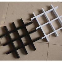 0.4-1.5mm铝格栅规格,铝格栅天花吊顶