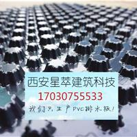 四川成都PVC排水板工厂塑料排水板低价车库专用排水板现货