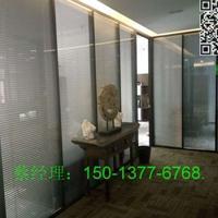 深圳哪里有做铝合金玻璃百叶高间隔墙的厂家