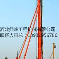 河北CFG-36液压步履式 深孔长螺旋钻孔机 液压钻孔机