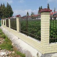 长沙围墙护栏更换锌钢材质