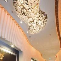 非标定制酒店工程灯 大型非标工程琉璃吊灯 艺术异形玻璃工艺灯具