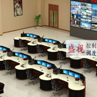 交警大队指挥中心调度台中控台控制台制造
