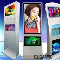 ELGANWO wj-5501G    圆角广告机 镜面电视机