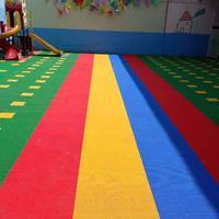 幼儿园拼装地板厂家@悬浮地板生产厂家@双层悬浮地垫