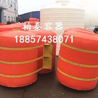 防洪水耐腐水电站拦截浮桶 常德水库拦垃圾浮筒