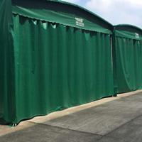 无锡可上门安装大型推拉帐篷活动仓库雨棚