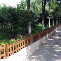 郑州厂家直销草坪护栏 pvc小区护栏 景区园林护栏 塑钢护栏