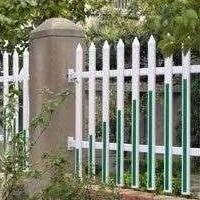 河南开封厂家直销草坪苗圃护栏 pvc社区护栏 景区园林塑钢护栏