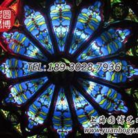 彩色玻璃穹顶彩绘玻璃穹顶蒂凡尼玻璃穹顶厂家