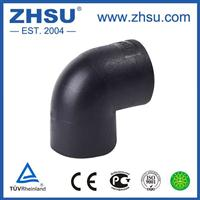 上海中塑HDPE弯头pe90度弯头PE给水管材管件批发厂家直销