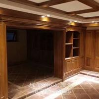 长沙工厂定制原木家具、原木储物柜、房门订做省心省力