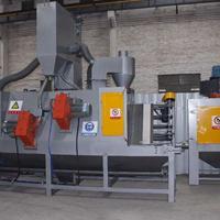 不锈钢表面处理设备 红海自动喷砂机厂家 抛丸机批发