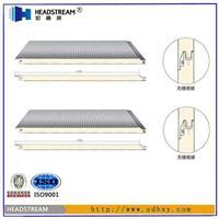聚氨酯彩钢板 宝钢聚氨酯夹芯板供应