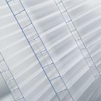 厂家供应10mm透明阳光板温室大棚专用阳光板加UV涂层加防雾滴