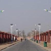 安徽滁州6米30瓦太阳能路灯安装