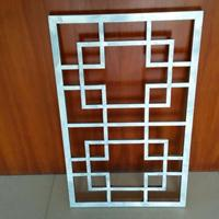 茶楼铝窗花-室内外铝窗花定制-铝窗花