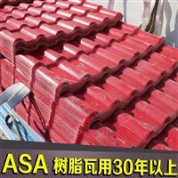 供应德阳市大型厂房工程用瓦 新农村改造塑料琉璃树脂瓦