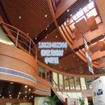 购物中心铝方通 商场吊顶 造型铝方通