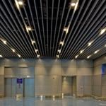 深圳定制铝方通吊顶丨U型铝方通厂家