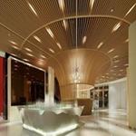 装饰专项使用别墅木纹铝方通