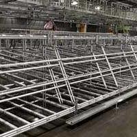 定制铝型材货架,仓储货架,工业型材货架,铝型材线棒货架