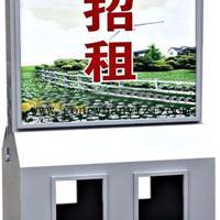 西安广告式太阳能垃圾桶,西安街道广告垃圾箱,西安市政分类灯箱