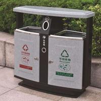 西安仿石材木纹果皮箱,西安模压垃圾桶,西安仿大理石垃圾箱