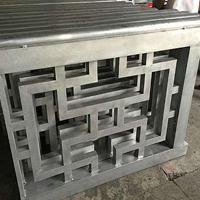 街道改造仿古木紋鋁窗花 鋁合金焊接花窗廠家定制