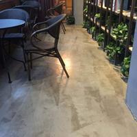 奧創地坪材料廠家復古漆仿古復古地板懷舊地板漆 咖啡廳復古地板