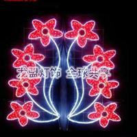 LED路灯杆造型灯荷花路灯杆造型灯图案灯迎春灯饰造型灯