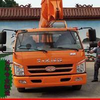 济宁华�龉┯�3吨-16吨小吊车 汽车吊车 自制底盘吊车厂家直销